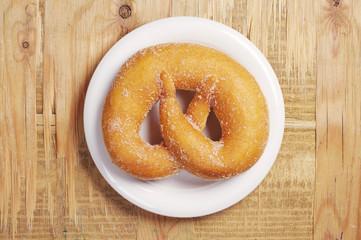 Tasty pretzel