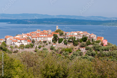 Sight of Beli town in Cres island