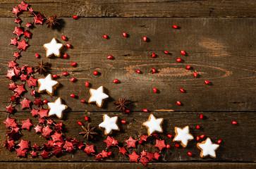 Biscotti di Natale, texture