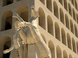 Dioscuro, Palazzo della Civiltà
