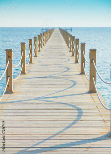 Pier in Heavenly Blue Place