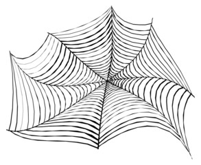 Creative Halloween Spider Web