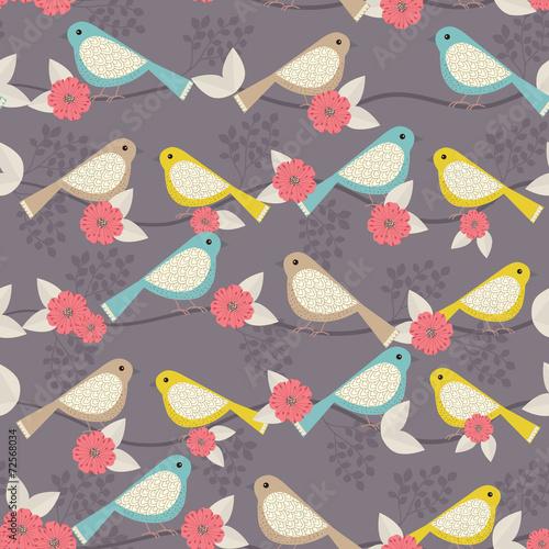 Birds on a tree - 72568034