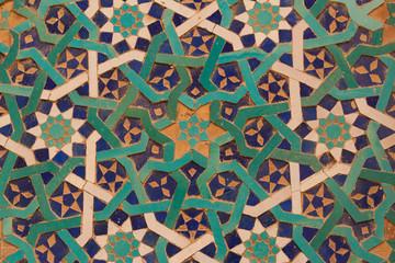 Wanddekor Moschee Yazd