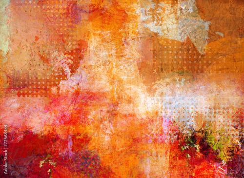 Leinwandbild Motiv malerei abstrakt opak lasierend