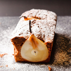 winter pear cake