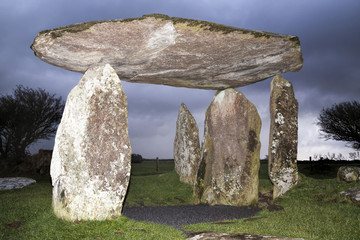 Pentre Ifan Bronze Age burial chamber, Wales