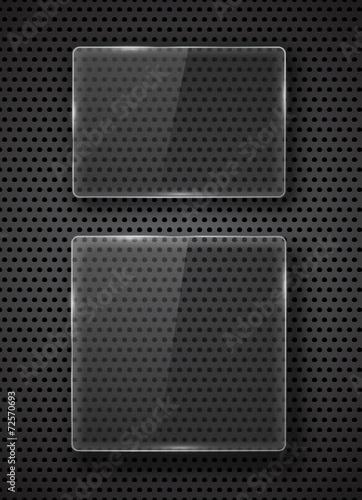 Vector glass frame. - 72570693