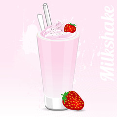 Milkshake Strawberry