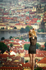 Prague through the eyes of birds