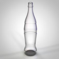 glass bottle illustration