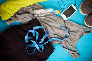 Sport clothes. Fitness concept