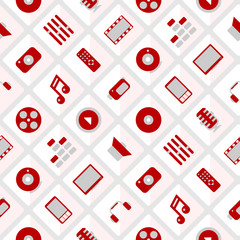 Pattern multimedia. seamless