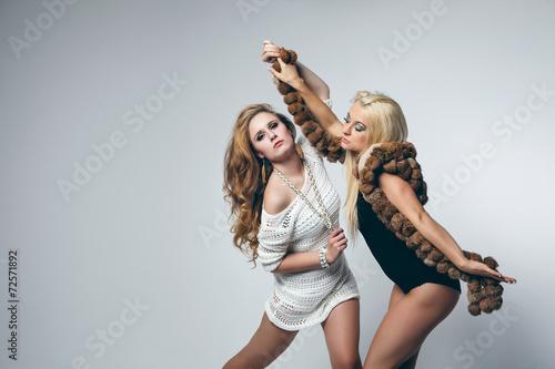 Poster sexy Ladys tanzen