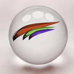 fishbowl, abstract illustration
