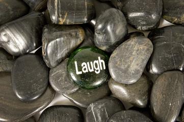 Laugh Encouragement Stone