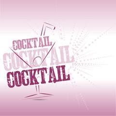 Cocktail brackground