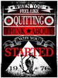 Постер, плакат: Vintage Slogan Man T shirt Graphic Vector Design