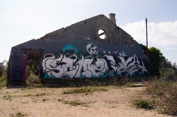 Lost Places Kunst - verlassene Industrie Gebäude