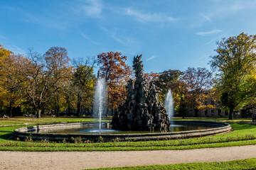springbrunnen schlossgarten komplett