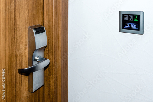 Electronic Hotel  Doorplate - 72576800