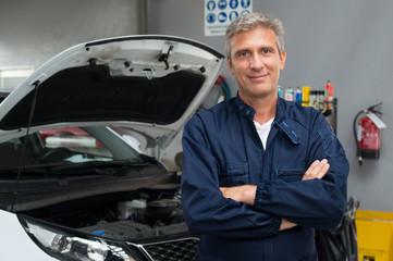Proud Auto Mechanic