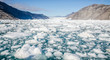 Leinwandbild Motiv iceberg in Greenland