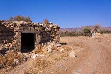 Semi-desert area of the Akamas Peninsula, Cyprus