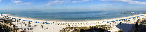 Foto op Plexiglas Kust Wide Panoramic View of Clearwater Beach Resort in Florida