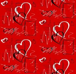 Фон Любовь абстрактный