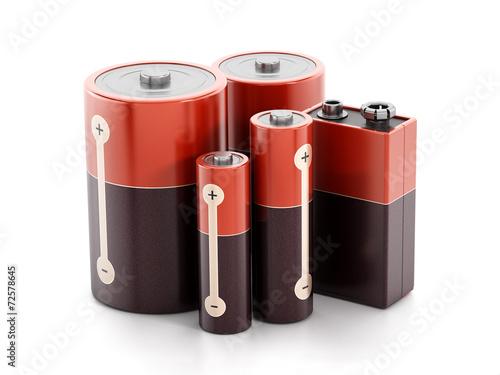 Fototapete Batterie - Wandtattoos - Fotoposter - Aufkleber
