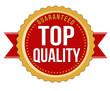 Top quality guaranteed badge