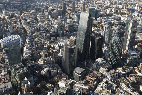 Foto op Canvas Londen london city skyline view from above