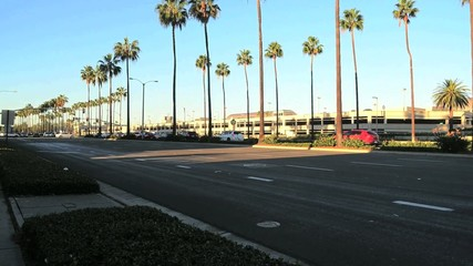 Commuters and Orange County CA Airport