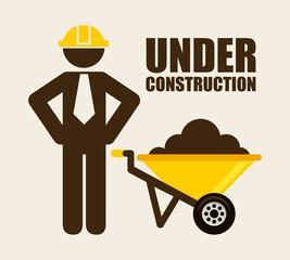 under construction design
