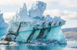 Leinwanddruck Bild - iceberg in Greenland