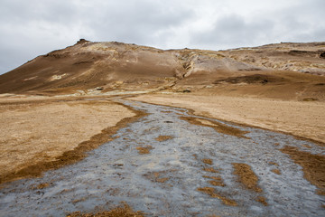Icelandic geothermal desert