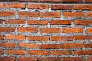 brown brick wall texture background