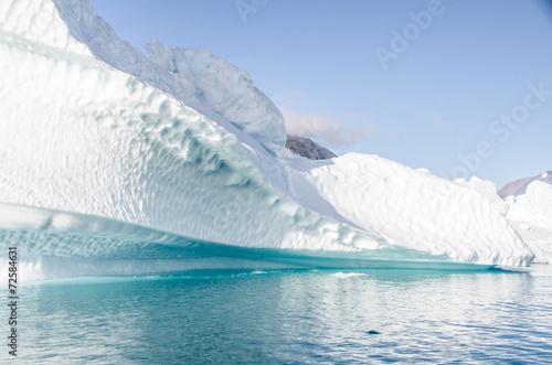 Foto op Canvas Gletsjers iceberg in Greenland