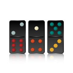 Vector of Domino Block