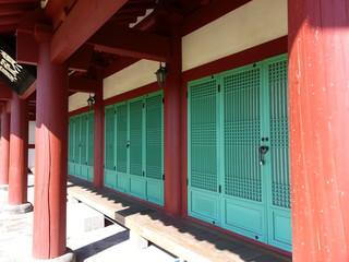 한국전통건축-기둥과 문