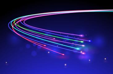 Optical Fibers.vector