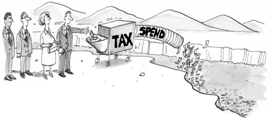 Tax and Spend Government