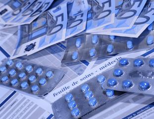 assurance maladie :surendettement