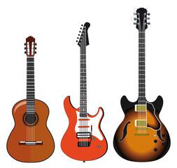 drei Gitarren