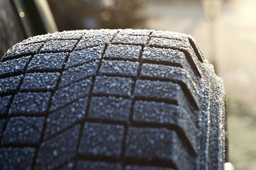 Ice on Tire