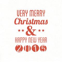 Merry Christmas & Happy New Year writing