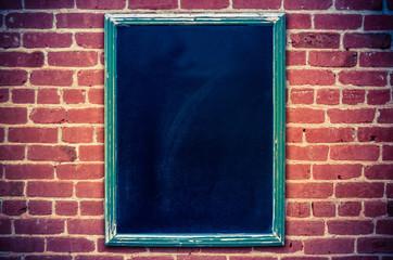 Blank Restaurant Blackboard Menu