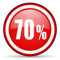 70 percent web icon