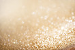 Christmas gold background. Golden holiday glowing background - 72592089
